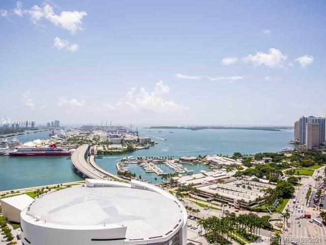 888 Biscayne Blvd #3605, Miami, FL 33132 (MLS #A11098430) :: Berkshire Hathaway HomeServices EWM Realty