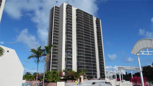 20301 W Country Club Dr #1629, Aventura, FL 33180 (MLS #A11098678) :: Berkshire Hathaway HomeServices EWM Realty