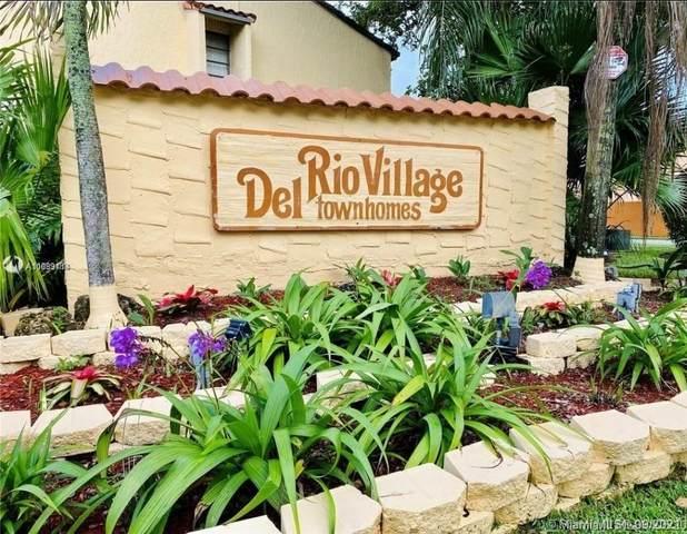 4006 Del Rio Way #4006, Sunrise, FL 33351 (MLS #A11099188) :: Castelli Real Estate Services