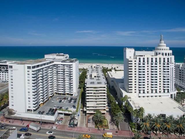 1623 Collins Ave #811, Miami Beach, FL 33139 (MLS #A11102631) :: The MPH Team