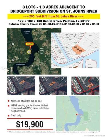 178 Bonita Dr, Palatka, FL 32177 (MLS #A11105514) :: The MPH Team