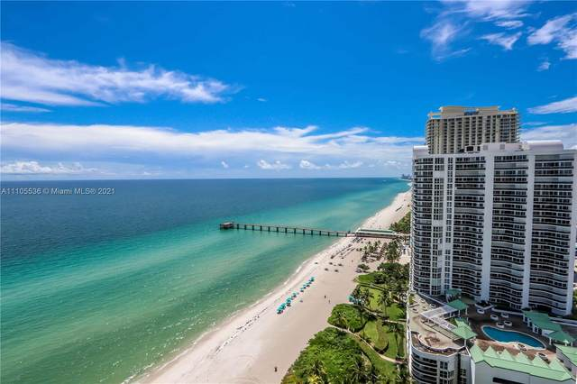 16901 Collins Ave #2205, Sunny Isles Beach, FL 33160 (MLS #A11105536) :: Berkshire Hathaway HomeServices EWM Realty