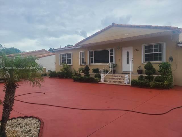 340 W 64th St, Hialeah, FL 33012 (#A11106019) :: Posh Properties