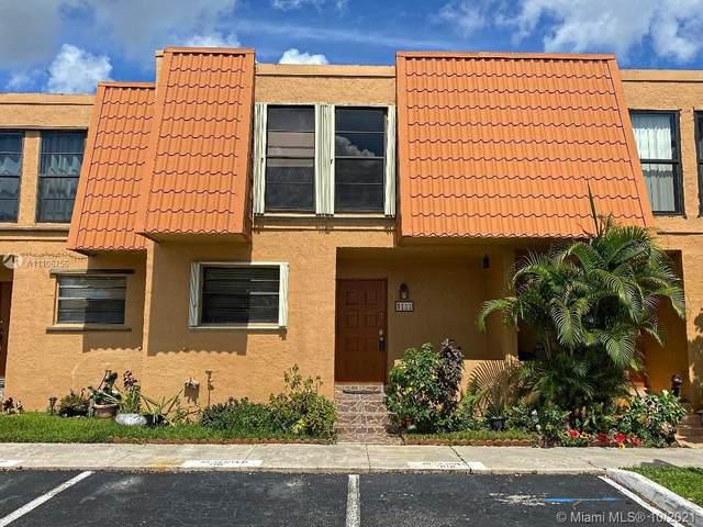 9111 Orchid Tree Ln #135, Pembroke Pines, FL 33024 (MLS #A11106756) :: Berkshire Hathaway HomeServices EWM Realty