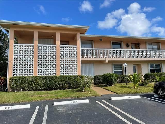 1845 NW 13th St #202, Delray Beach, FL 33445 (#A11108275) :: Posh Properties