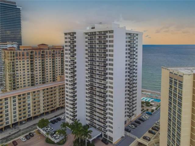 3140 S Ocean Dr #201, Hallandale Beach, FL 33009 (MLS #A11110355) :: Jose Laya