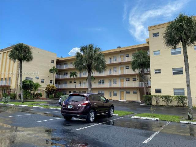 3940 NW 42nd Ave #320, Lauderdale Lakes, FL 33319 (MLS #A11110368) :: Green Realty Properties