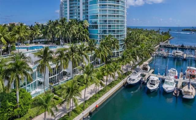 1000 S Pointe Dr Th-M4, Miami Beach, FL 33139 (MLS #A11110496) :: The Teri Arbogast Team at Keller Williams Partners SW