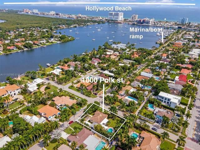 1000 Polk St, Hollywood, FL 33019 (MLS #A11110760) :: Green Realty Properties