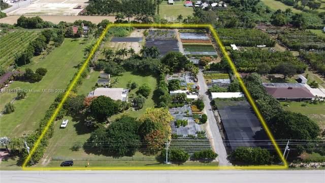 25743 SW 217 Ave, Homestead, FL 33031 (MLS #A11111631) :: Re/Max PowerPro Realty