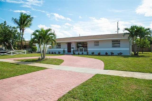 4016 Grant St, Hollywood, FL 33021 (MLS #A11114577) :: Berkshire Hathaway HomeServices EWM Realty