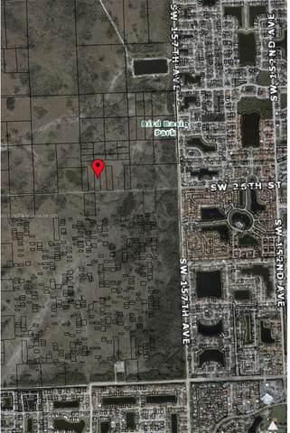 162XX -0142 SW 26 St, Miami, FL 33185 (MLS #A11117507) :: Patty Accorto Team