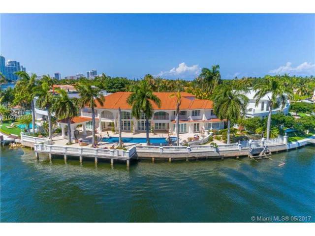 154 S Island, Golden Beach, FL 33160 (MLS #A10274284) :: Green Realty Properties