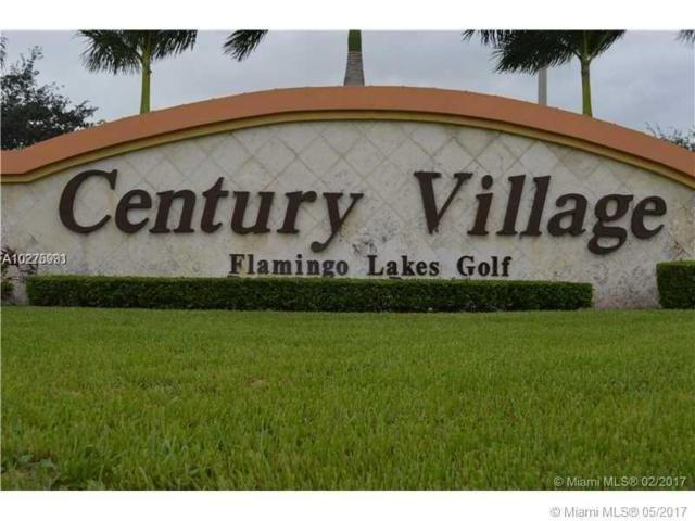 12950 SW 7th Ct 302A, Pembroke Pines, FL 33027 (MLS #A10275991) :: Green Realty Properties