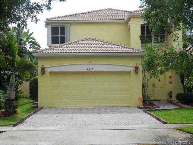 4913 SW 166th Ave, Miramar, FL 33027 (MLS #A10297250) :: Christopher Tello PA