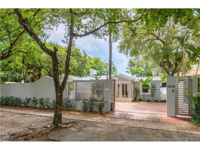 1608 Tigertail Ave, Coconut Grove, FL 33133 (MLS #A10301605) :: The Riley Smith Group