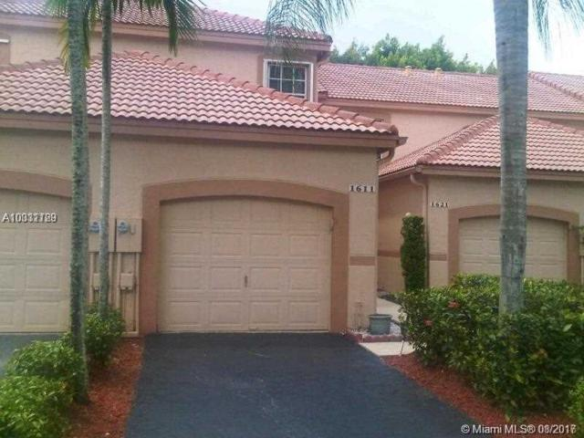 1611 Sorrento Dr #0, Weston, FL 33326 (MLS #A10331129) :: The Chenore Real Estate Group