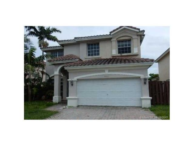 2001 NW 99th Terrace, Pembroke Pines, FL 33024 (MLS #A10331402) :: The Chenore Real Estate Group
