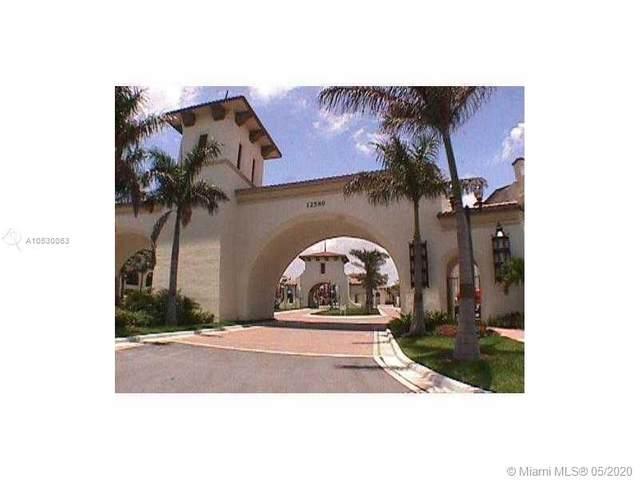 12480 NW 33rd St #12480, Sunrise, FL 33323 (MLS #A10530053) :: Berkshire Hathaway HomeServices EWM Realty