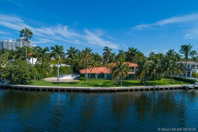 296 S Parkway, Golden Beach, FL 33160 (MLS #A10534440) :: The Rose Harris Group