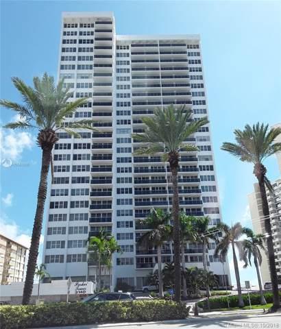 3140 S Ocean Dr #1103, Hallandale Beach, FL 33009 (MLS #A10541698) :: GK Realty Group LLC