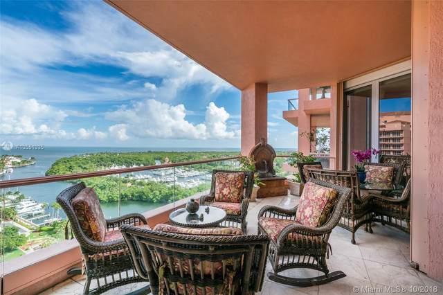 60 Edgewater Dr Ph3-C, Coral Gables, FL 33133 (MLS #A10551935) :: Berkshire Hathaway HomeServices EWM Realty