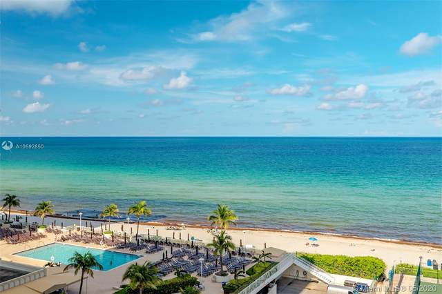 1912 S Ocean Dr 10C, Hallandale Beach, FL 33009 (MLS #A10592850) :: Ray De Leon with One Sotheby's International Realty