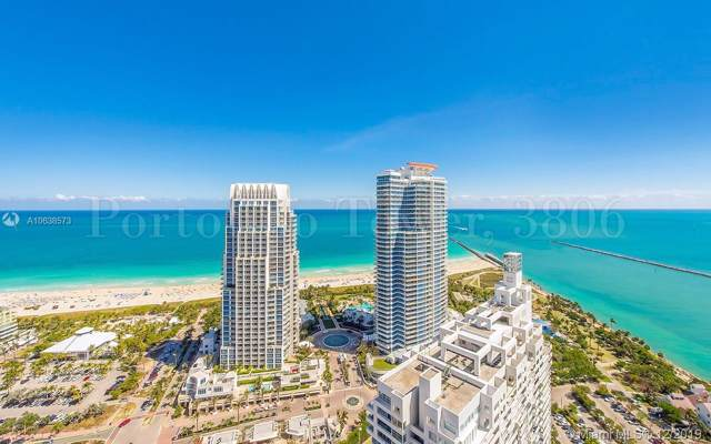 300 S Pointe #3806, Miami Beach, FL 33139 (MLS #A10638573) :: GK Realty Group LLC