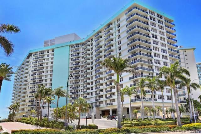 3725 S Ocean Dr #1123, Hollywood, FL 33019 (MLS #A10652836) :: Berkshire Hathaway HomeServices EWM Realty