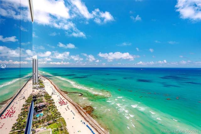 17475 Collins Ave #2701, Sunny Isles Beach, FL 33160 (MLS #A10659987) :: Berkshire Hathaway HomeServices EWM Realty