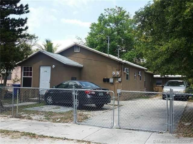 133 NW 69 ST, Miami, FL 33150 (MLS #A10673902) :: Carole Smith Real Estate Team