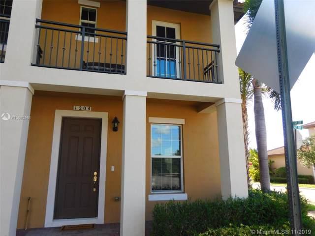 1204 SW 147th Ave #1204, Pembroke Pines, FL 33027 (MLS #A10682981) :: Berkshire Hathaway HomeServices EWM Realty