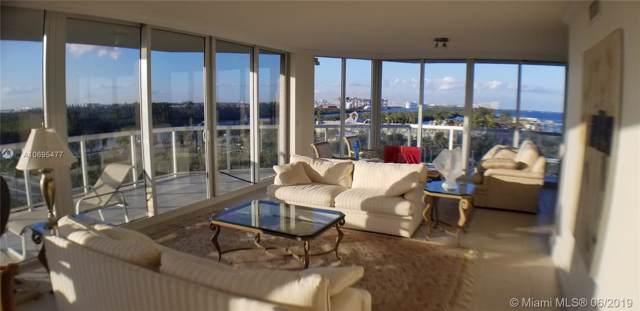 6051 N Ocean Drive #804, Hollywood, FL 33019 (MLS #A10695477) :: Grove Properties