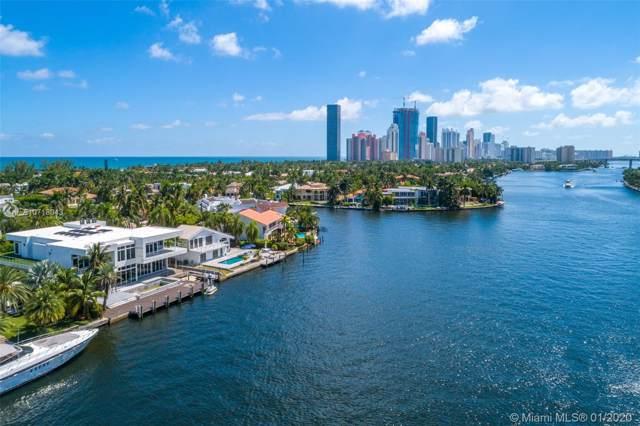 369 Center Island, Golden Beach, FL 33160 (MLS #A10718043) :: Berkshire Hathaway HomeServices EWM Realty