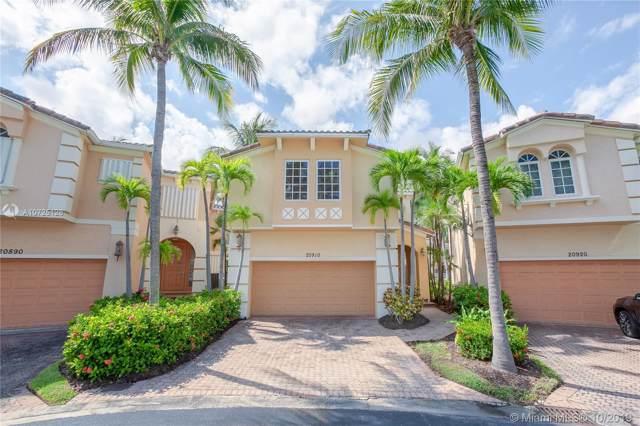 20910 NE 30 Pl., Aventura, FL 33180 (MLS #A10725128) :: RE/MAX Presidential Real Estate Group