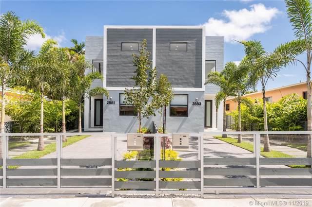 2881 SW 34th Ave #2881, Miami, FL 33133 (MLS #A10725707) :: Berkshire Hathaway HomeServices EWM Realty