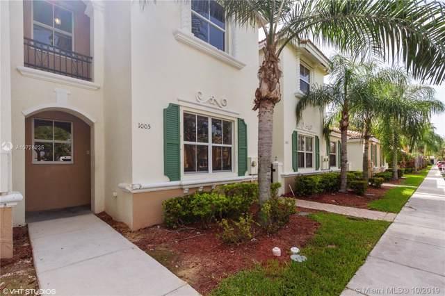 1005 NE 42nd Ter #1005, Homestead, FL 33033 (MLS #A10726235) :: Berkshire Hathaway HomeServices EWM Realty