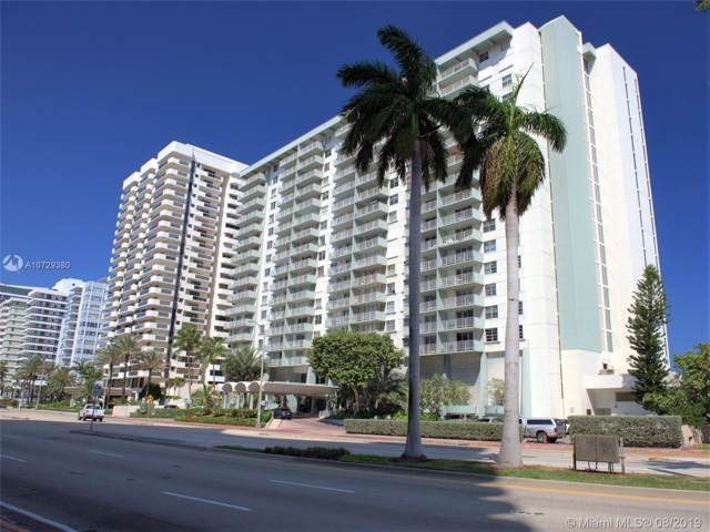 5701 Collins #1507, Miami Beach, FL 33140 (MLS #A10729380) :: Green Realty Properties