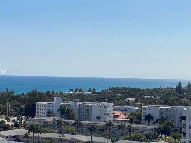 2017 S Ocean Dr Ph4, Hallandale, FL 33009 (MLS #A10733930) :: The Rose Harris Group