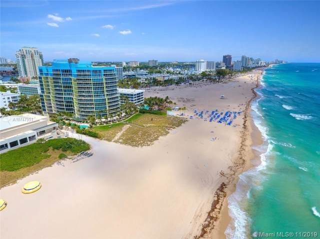 1200 Holiday Dr #802, Fort Lauderdale, FL 33316 (MLS #A10747951) :: The Paiz Group
