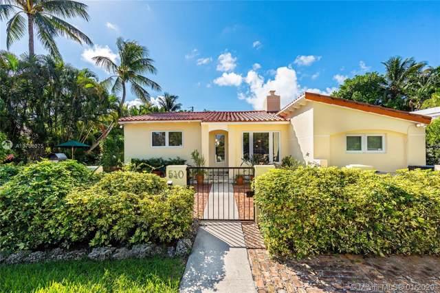 540 W 51st Ter, Miami Beach, FL 33140 (MLS #A10768075) :: Patty Accorto Team