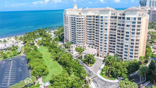 791 Crandon Blvd #101, Key Biscayne, FL 33149 (MLS #A10774106) :: Green Realty Properties