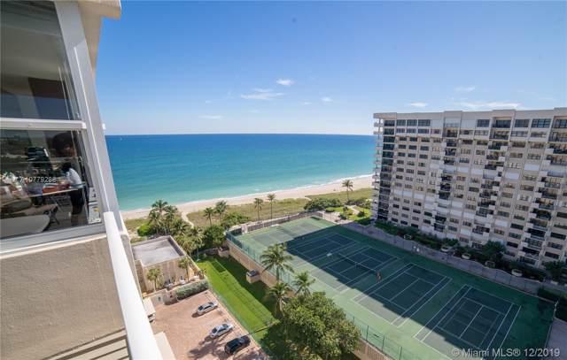 5200 N Ocean Blvd 1515A, Lauderdale By The Sea, FL 33308 (MLS #A10779288) :: GK Realty Group LLC