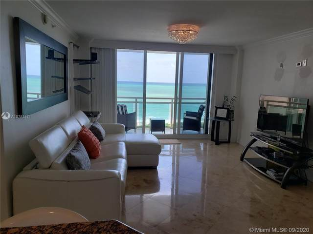 6917 Collins Ave #809, Miami Beach, FL 33141 (MLS #A10783471) :: Re/Max PowerPro Realty