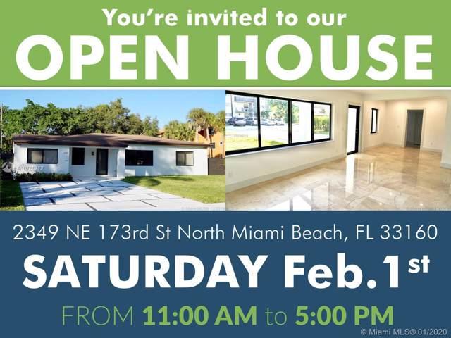 2349 NE 173rd St, North Miami Beach, FL 33160 (MLS #A10785712) :: Patty Accorto Team