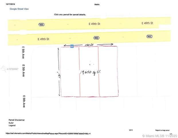 510 E 49th St, Hialeah, FL 33013 (MLS #A10789567) :: Berkshire Hathaway HomeServices EWM Realty