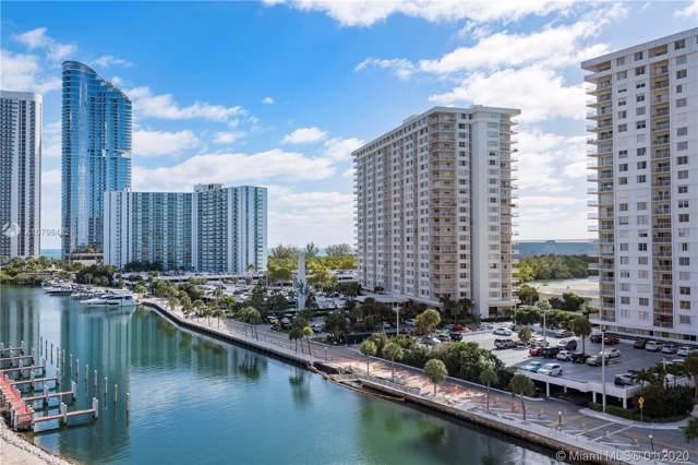 400 Kings Point Dr 822-23, Sunny Isles Beach, FL 33160 (MLS #A10798482) :: Berkshire Hathaway HomeServices EWM Realty