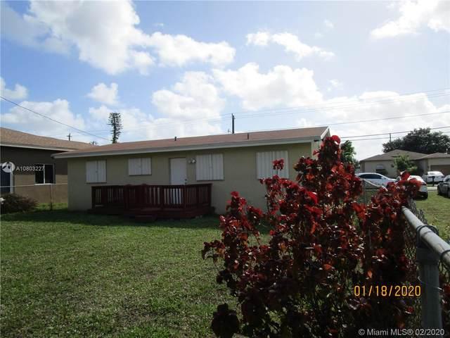 4511 SW 18th St, West Park, FL 33023 (MLS #A10803227) :: Berkshire Hathaway HomeServices EWM Realty