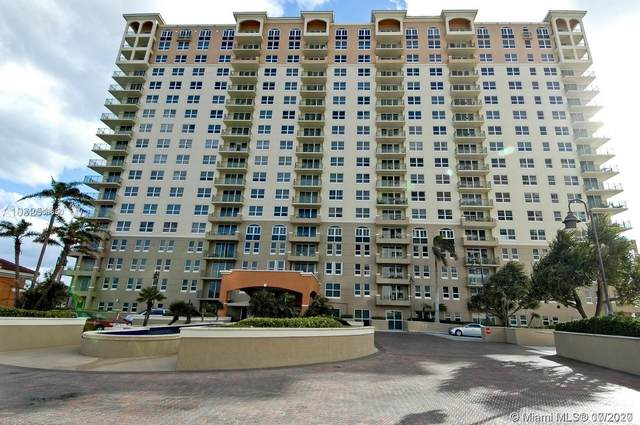 2080 S Ocean Dr #1602, Hallandale Beach, FL 33009 (MLS #A10806650) :: Berkshire Hathaway HomeServices EWM Realty