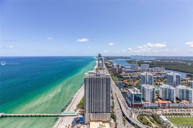 16901 E Collins Ave #5503, Sunny Isles Beach, FL 33160 (MLS #A10810706) :: The Rose Harris Group